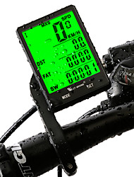 cheap -West biking Bike Computer/Bicycle Computer Waterproof Wireless LCD Display Av - Average Speed Odo - Odometer Max - Maximum Speed SPD -