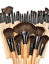 cheap -32pcs Foundation Brush Powder Brush Fan Brush Eyelash Brush Eyeliner Brush Brow Brush Eyeshadow Brush Blush Brush Makeup Brush Set Nylon