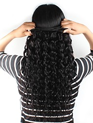 Natural Color Hair Weaves Brazilian Texture Natural Wave 3 Months One-piece Suit hair weaves