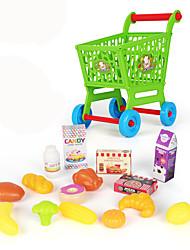 Недорогие -Игрушечные машинки Бакалея Торговый Игрушки Игрушки Пластик ABS Мальчики Девочки 15 Куски