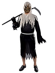 Ghost Outfits Male Halloween Christmas Festival/Holiday Halloween Costumes Patchwork