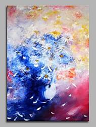 Недорогие -одуванчик декор стен ручной росписи современных картин маслом современное произведение искусства стены
