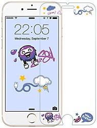 preiswerte -Displayschutzfolie für Apple iPhone 8 Hartglas 1 Stück Vorderer Bildschirmschutz High Definition (HD) / Explosionsgeschützte / Muster