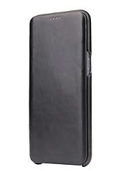 preiswerte -Hülle Für Samsung Galaxy Flipbare Hülle Ganzkörper-Gehäuse Volltonfarbe Hart PC für S8 Plus S8