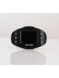 W3 HD 1280 x 720 1080p 140° Автомобильный видеорегистратор 1248 1,5 дюйма LCD КапюшонforУниверсальный Встроенный микрофон Баланс белого