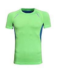 economico -Per uomo T-shirt da corsa Manica corta Asciugatura rapida Traspirabilità Leggero Elastico Traspirante T-shirt per Corsa Casual Esercizi