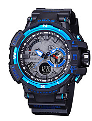 cheap -Men's Kid's Sport Watch Fashion Watch Wrist watch Quartz LCD Calendar Water Resistant / Water Proof Dual Time Zones Stopwatch PU Band