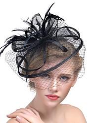 abordables -Mujer Acrílico Horquilla - Sombrero