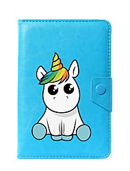 cheap -Universal Unicorn PU Leather Stand Cover Case For 7 Inch 8 Inch 9 Inch 10 Inch Tablet PC