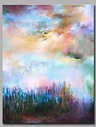 Недорогие -облачный и туманной стены декор ручной росписи современных картин маслом современное произведение искусства стены
