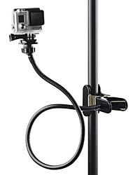 Gancio Morsetto flessibile Custodia Antiscivolo Vite-on Resistenti Regolabili Resistente all'acqua Per Tutte le videocamere d'azione