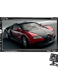 2 Din allgemeine Auto-Modelle 6,95 '' Zoll lcd Touchscreen Auto Radio Player Bluetooth Auto Audio