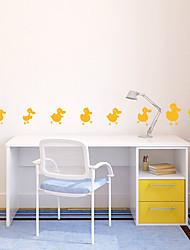 Animali Cartoni animati Adesivi murali Adesivi aereo da parete Adesivi decorativi da parete Materiale Decorazioni per la casa Sticker