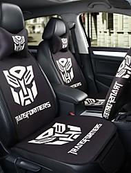 il sedile autobots sedile per auto sedile copri sedile quattro stagioni generali circondato da un poggiatesta da 5 posti con due ruote