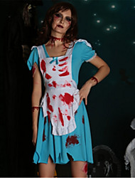 cheap -Bloody Mary Cosplay Costume Halloween Day of the Dead Festival / Holiday Halloween Costumes Fashion