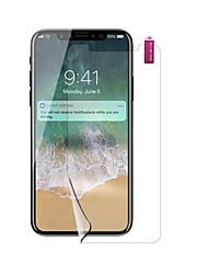 preiswerte -PET Displayschutzfolie für Apple iPhone X Vorderer Bildschirmschutz High Definition (HD) Explosionsgeschützte