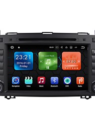 baratos -android 7.1.2 carro dvd player sistema multimídia 8 polegadas quad core wifi ex-3g dab para mercedes benz a / b classe w169 w245 b200