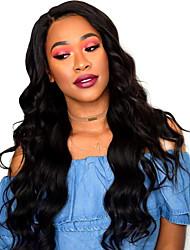 Women Human Hair Lace Wig Full Lace Wigs 180% Density Body Wave Wigs Brazilian Hair Black Long