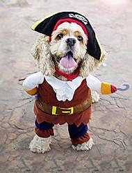 Perro Disfraces Navidad Ropa para Perro Fiesta Cosplay Moda Halloween Británico Café Disfraz Para mascotas