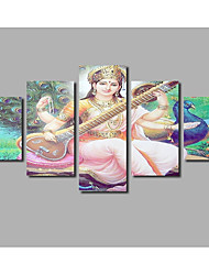 India Buddha Statue Painting For Modern Home Wall Decoration Posters Printed on Canvas Landscape Pictures Livingroom Artworks Background Deco