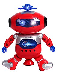 cheap -RC Robot LZ444-3 Kids' Electronics ABS Singing Dancing Walking Talking Remote Control Multi-function