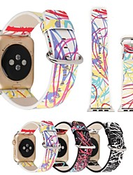 abordables -Ver Banda para Apple Watch Series 3 / 2 / 1 Apple Watch Serie 3 Apple Watch Series 2 Apple Watch Series 1 Apple Correa de Muñeca Hebilla
