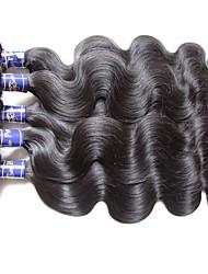 i capelli vergini vergini dell'onda del corpo peruviano reale di qualità superiore di grado 6bundles lot 600g per due testa intrecciano le