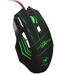 cheap -S300 Wired Gaming Mouse DPI Adjustable Backlit 1200 / 1600 / 2400 / 3200/5500