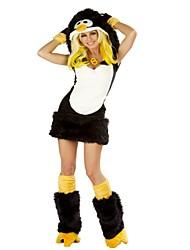 abordables -Cookie Anime Disfrace de Cosplay Halloween Festival / Celebración Disfraces de Halloween Negro Moda