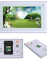 Недорогие -720p 7 tft проводной / беспроводной wifi ip видео домофон домофон домофон с 1000tvl проводной камерой ночного видения