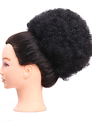 cheap -Synthetic hair Curly Big Chignon Bun Hairpiece Clip-In 4Colors