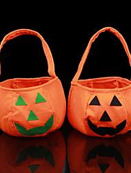 New Halloween Party Supplies Non-Woven Fabrics Pumpkin Bags Halloween Props Kids Children Toys Candy Bag