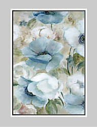 Floral/Botanical Framed Art Print Frame Art Wall Art,Alloy Material With Frame For Home Decoration Frame Art Living Room Dining Room