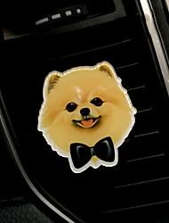 Недорогие -автомобиль воздушный выход решетка духи милый мультфильм творческий щенок автомобильный очиститель воздуха