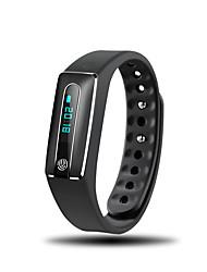 Bracelet d'Activité iOS Android iPhone Etanche Longue Veille Pédomètres Santé Sportif Moniteur de Fréquence Cardiaque Fonction réveille
