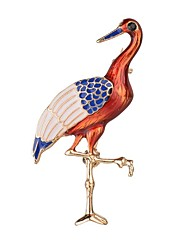 cheap -Women's Girls' Brooches Jewelry Animal Design Adorable Alloy Bird Orange Jewelry For Party Gift