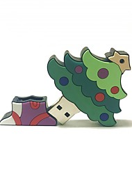baratos -8gb natal usb flash drive cartoon criativo natal árvore natal presente usb 2.0