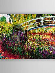 economico -Dipinta a mano Paesaggi Orizzontale,Nuovo arrivo Un Pannello Tela Hang-Dipinto ad olio For Decorazioni per la casa