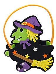 cheap -Witch Bags and Purses Halloween Festival / Holiday Halloween Costumes Purple Fashion