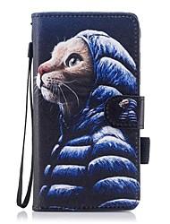 Custodia Per Samsung Galaxy J7 (2017) J3 (2017) A portafoglio Porta-carte di credito Con supporto Con chiusura magnetica A calamita