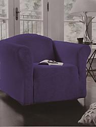 Недорогие -Накидка на диван Однотонный С принтом 100% полиэстер Чехол с функцией перевода в режим сна