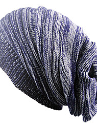 Недорогие -Муж. Шапки Широкополая шляпа - Чистый цвет Однотонный