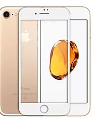 Недорогие -Закаленное стекло Защитная плёнка для экрана для Apple iPhone 8 Защитная пленка на всё устройство Уровень защиты 9H 2.5D закругленные