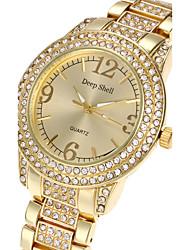 cheap -Women's Wrist watch Fashion Watch Quartz Hot Sale Alloy Band Luxury Casual Elegant Cool Silver Gold