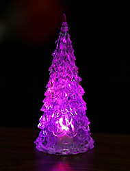 cheap -1Pc Luminous Fairy Color Changing Led Night Light Lamp Tree Ornament