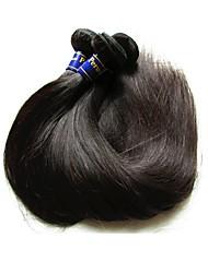 preiswerte -Echthaar Glatt Peruanisches Haar 500 g Mehr als ein Jahr