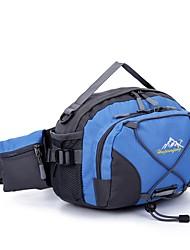 Недорогие -2 L Поясные сумки - Быстровысыхающий, Пригодно для носки На открытом воздухе Пешеходный туризм, Бег Ткань, Нейлон Черный, Зеленый, Синий