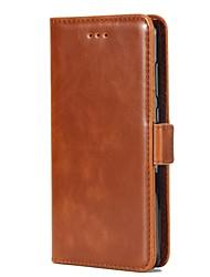 economico -Custodia Per Huawei P9 P10 A portafoglio Porta-carte di credito Con supporto Con chiusura magnetica A calamita Integrale Tinta unica