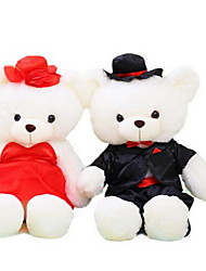 cheap -Stuffed Toys Dolls Toys Bear Wedding Dress Animal Not Specified Pieces