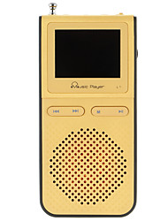 abordables -UnisCom MP3 MP3 WMA WAV Batería li-ion recargable